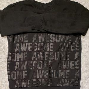 Boys GRAPHIC wordinng sweatshirt.